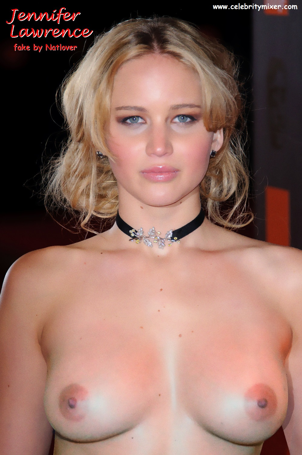 Jennifer Lawrence  Hunger Games  Celebrity X-5967