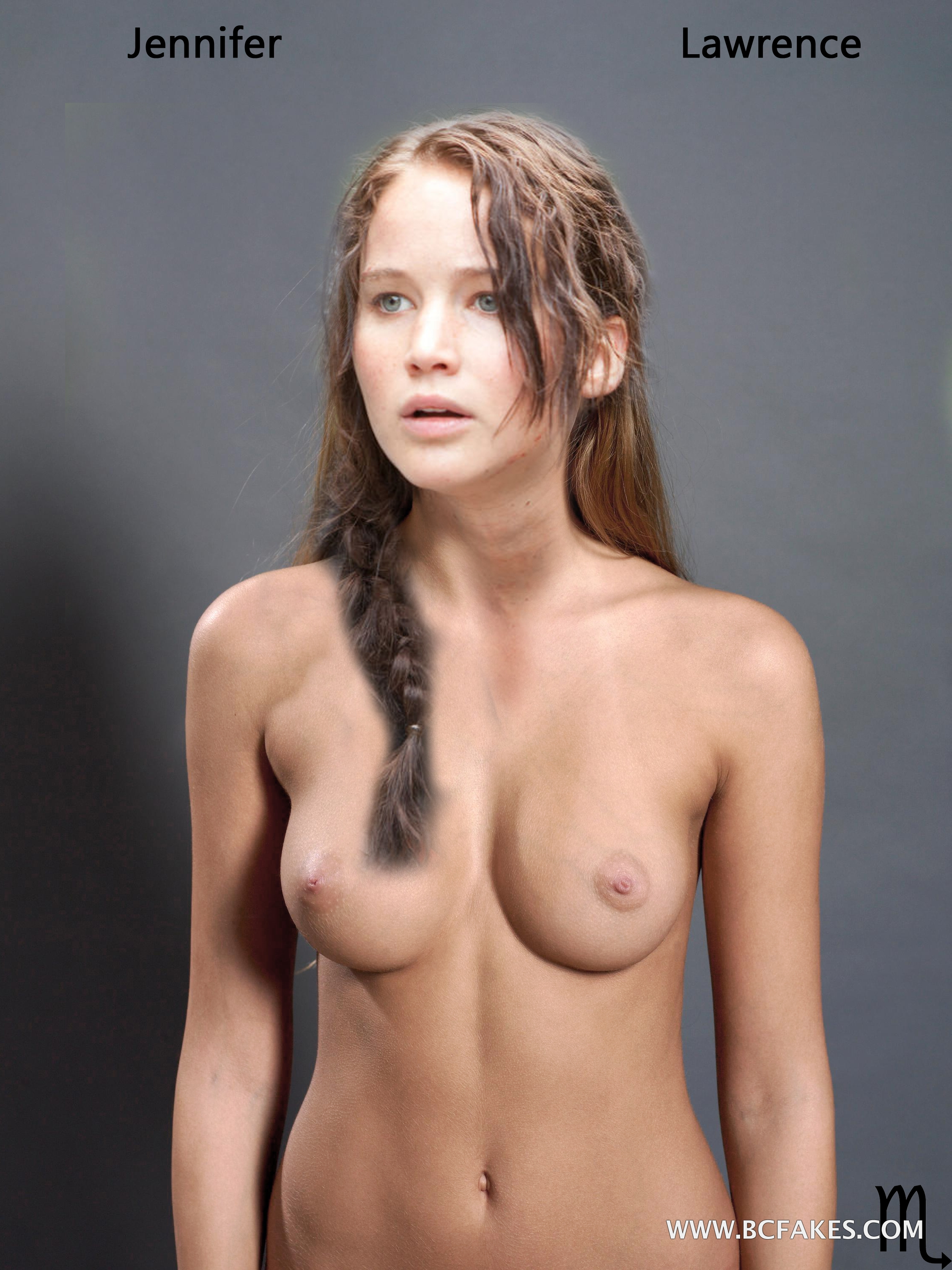 Jennifer Lawrence  Hunger Games  Celebrity X-9371